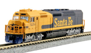 Kato N Scale EMD SDP40F Locomotive Santa Fe ATSF #5250 DC DCC Ready 1769211