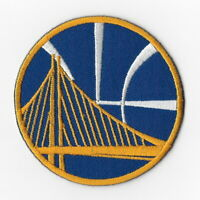 NBA Golden State Warriors Iron on Patches Embroidered Badge Patch Emblem Blue