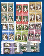 U37a -  Jordan Holy Via Dolorosa  stamps 8 blocks of 4 each MNH**  OG