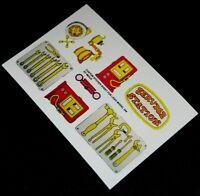 Ersatz Pre-Cut Aufkleber/Sticker für LEGO 344-2 Fabuland Service Station (1979)
