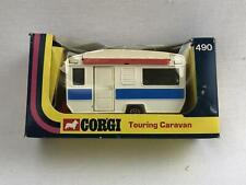 Corgi #490 Touring Caravan