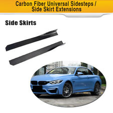 Carbon Fiber Side Skirt Bodykit For Mercedes Benz W117 C117 Audi A5 S5 Volkswage