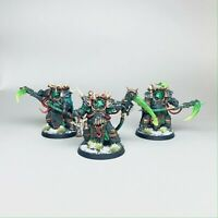 Warhammer 40k Death Guard - Painted Deathshroud Bodyguards - Model 08030