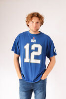 Vintage NFL American Football Indianapolis Colts T-Shirt Blue (XL)
