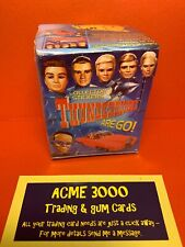 CARDS INC - 2002 THUNDERBIRDS ARE GO Sealed Box of 50 Packs of 6 Stickers