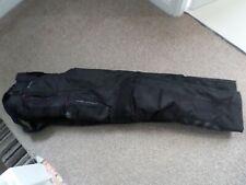 mens bib and brace motorcycle New Oxford Ranger Black trousers  32 waist medium