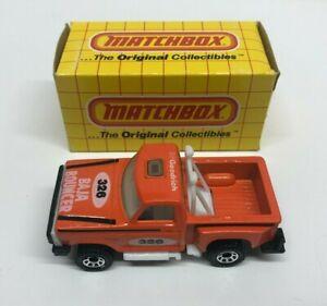 vintage 1983 Matchbox BAJA BOUNCER FLARESIDE TRUCK (Macau) *** New in box!