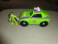 DC Super Friends - the Joker Action Figure - Surprise Tank Vehicle -