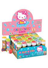 36 Hello Kitty Bubble Liquid Wannen - Spielzeug Beute / Party Füller