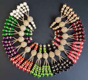 Beautiful Decorative Tassels Latkans Crafts Sewing Blouses Sarees Skirts
