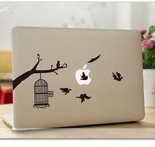 SkinAT 3M Vinyl Decal Sticker Skin Color B&W BIRDCAGE for Apple Macbook Air Pro