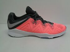 Nike Size 10 ZOOM CONDITION TR Pink Lava Glow Training Sneakers New Womens Shoes