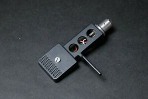 Technics SH-98 SH98 Turntable Headshell Head shell (Black) w/ Wires/ from Japan