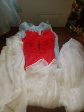 Vintage Women's Clothing Nightwear Night Gown Group Lot Sears Gaymode Shadowtire