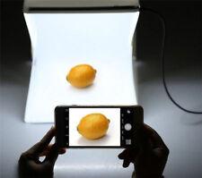 Foldable LED Light Photo Studio Photography Lighting Tent Backdrop Cube Mini Box