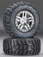 Traxxas Slash Split Spoke Satin  w/ Kumho Tires 2WD Rear 4WD F or R TRA6874