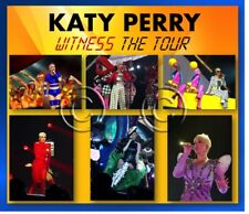 KATY PERRY WITNESS 1800 PHOTO CD CONCERT SET 1, 2 + 3LIVE NOT VIP SIGNED