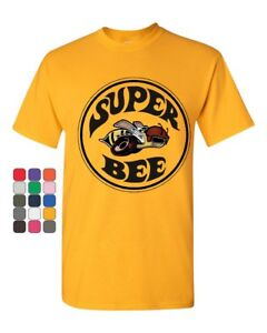 Dodge Super Bee T-Shirt American Muscle Car Cotton Tee