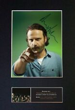 #562 ANDREW LINCOLN Reproduction Signature/Autograph Mounted Signed Photograph