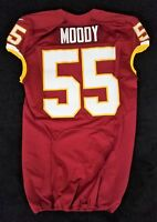 #55 Nick Moody of Washington Redskins NFL Locker Room Game Issued Jersey
