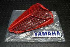 YAMAHA RAPTOR 700 RADIATOR GUARD RED PLASTIC FRONT VENTED COVER 13-17