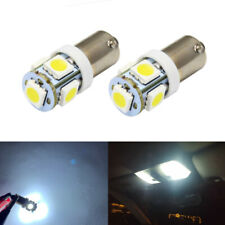 2 x Cool White LED Ba9s 47830 Interior Map Dome Vanity Mirror Light Bulbs