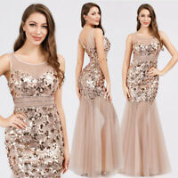 Ever-Pretty Womans Sequin Long Evening Party Dress Mermaid Prom Ball Gowns 07922