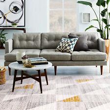 Floor Rug Grey Beige Gold Triangle Geometric Mat Modern Large Carpet 200x290cm