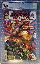 HARLEY QUINN #75 (10/'20) CGC 9.6 NM+ GUILLEM MARCH COVER JOKER WAR TIE-IN DC