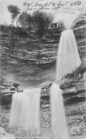 1908 Catskills New York Kaaterskill Falls undivided Rotograph postcard 7271