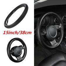 Universal Auto Car Steering Wheel Cover 3D Weave Anti-Slip Decoration Protector
