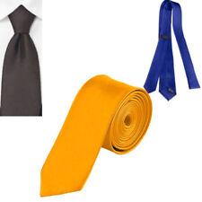Corbatas, pajaritas y pañuelos de hombre lisas amarillos