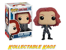 Captain America: Civil War - Black Widow Pop! Vinyl Figure