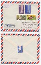 1982 TURKEY Air Mail Cover KADIKOY to KARUP DENMARK