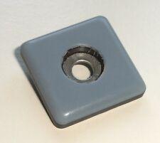 32 Teflon Möbelgleiter Stuhlgleiter eckig 25x25 mm zum schrauben - PTFE Laflon