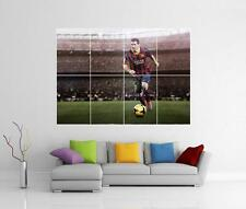 Lionel MESSI BARCELONE BARCA GIANT WALL ART photo imprimé Poster