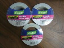 Ultratape - General Purpose Double Sided Tape - 33M x Various Sizes 6,12,24 Roll