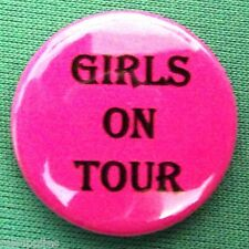 Girls On Tour Pack of 10 x 25mm Pin Button Badge. Funny Humour Hen Party etc