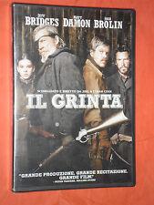 IL GRINTA-  CON:JEFF BRIDGES, MATT DAMON - DVD film-da collezione-sigillato