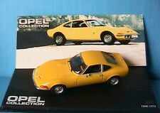 OPEL GT 1968 1973 IXO 1/43 ALTAYA JAUNE YELLOW GELB NEW