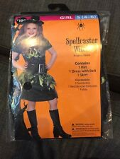 New Halloween Costume Small 4-6 Spellcaster Witch