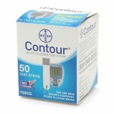 Bayer Contour Blood Glucose,100 Test Strips and Meter Expiration Date 04/2018