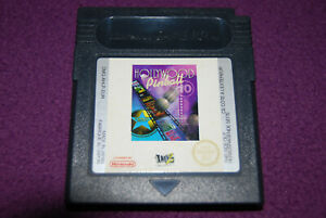 HOLLYWOOD PINBALL - Take Two Interactive - Flipper Game Boy Color GBC EUR