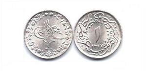 Egypt 1/10 Qirsh 1913 Unc