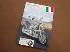 BMW R1200C Uso e manutenzione Istruzioni per l'uso
