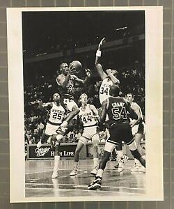 Michael Jordan 1990 Original Photo 8x10 Type 1 PSA/DNA LOA Chicago Bulls HOF