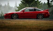 NISSAN RPS13 180SX TYPE X JDM 2 PIECE SIDE SKIRTS BODY KIT JSAI AERO