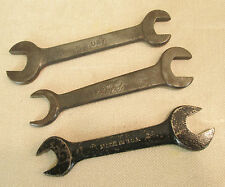"""VINTAGE LOT OF 3 AUTO  WRENCHES 5"""" EARLY OEM FORD MODEL A,T CAR TOOLS"""