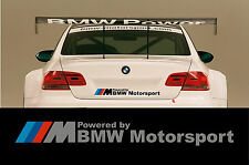 // m powered by bmw motorsport-panneau de carrosserie autocollant decal