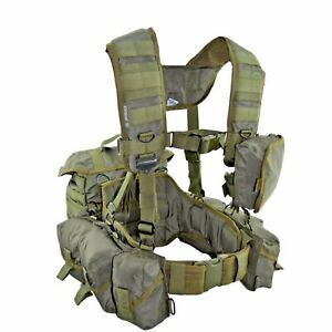 SSO / SPOSN Tactical Vest Smersh Sniper Rifle Olive Russian Army Belt System